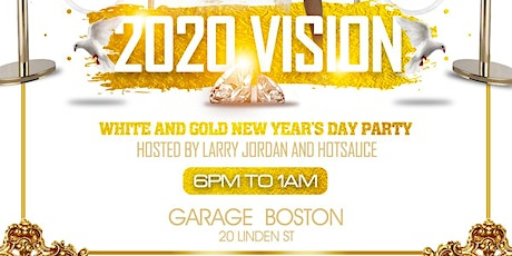 2020 vision white and gold day party tickets