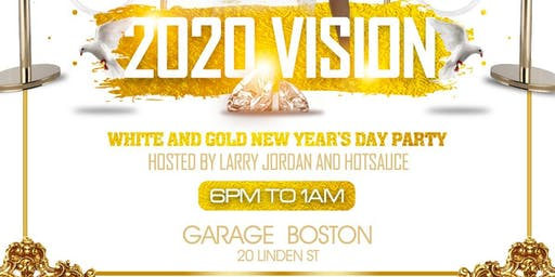 2020 vision white and gold day party
