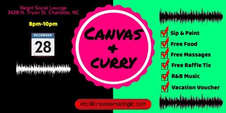 Canvas & Curry (Sip & Paint) tickets
