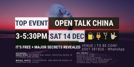 Open Talk China