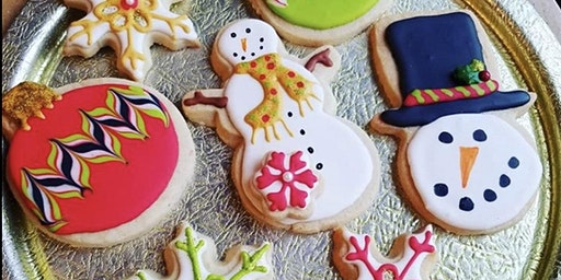 Basic Art of Cookie Decorating ~ Christmas edition