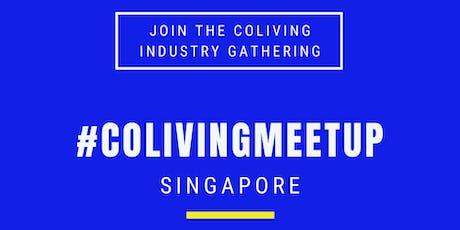 CO-LIV MEETUP SINGAPORE tickets