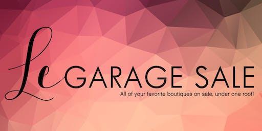 Le Garage Sale - Jan. 25-26, 2020