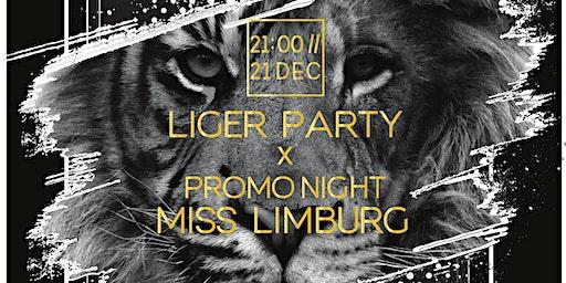 Liger Party X Promo night Miss Limburg Belgium support Hope 4 Children
