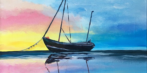 Paint & Sip Party 'Anchored Calm' @ Hare on the Green, Brampton