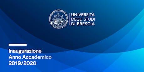 Inaugurazione Anno Accademico 2019/2020 biglietti