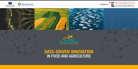 DataBio project: Data-Driven INNOVATION in food and agriculture biglietti