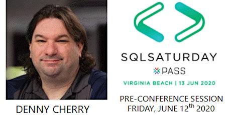 SQL Server Security with Microsoft MVP Denny Cherry tickets