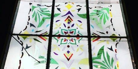 A festive evening of Mindful Art! Community Window #12 tickets