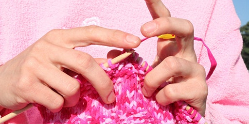 Knitting Pictures - Beeston Library - Community Learning