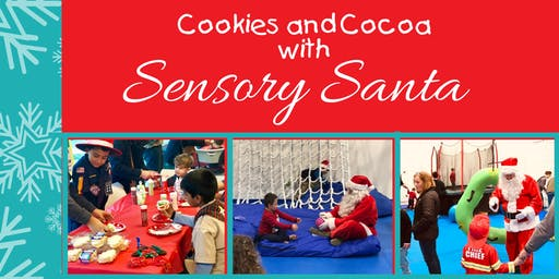 Cookies and Cocoa with Sensory Santa!