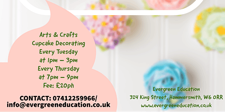 Cupcake Decorating Classes tickets