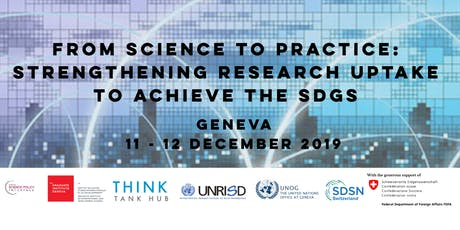 From Science to Practice: Strengthening Research Uptake to Achieve the SDGs tickets