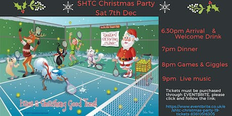 SHTC Christmas Party  '19 tickets