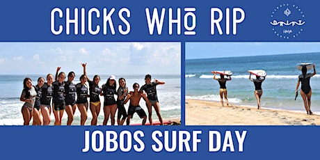 CHICKS WHO RIP - Jobos Surf Lesson & Beach Day tickets