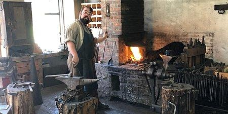 Introduction to Blacksmithing at The Farmers' Museum