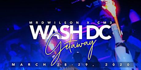 Washington DC Getaway tickets