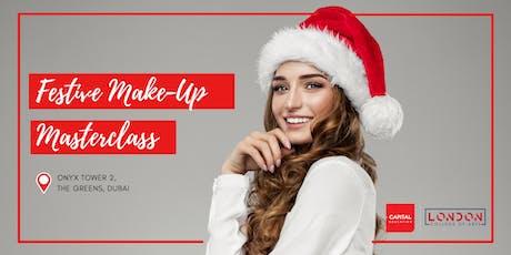 Festive Make-Up Masterclass - LCA Capital Make-Up School tickets