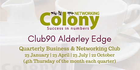 Alderley Edge Business & Networking Club - 22 October 2020 tickets