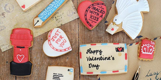 Biscuiteers School of Icing - Love Letter - Notting Hill