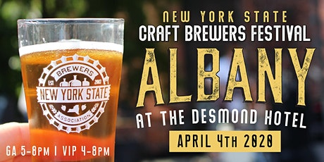 New York Craft Brewers Festival Albany - 4/4/20 tickets