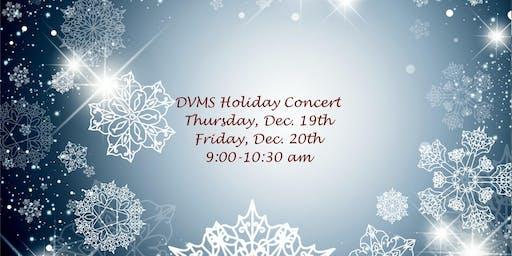 DVMS Holiday Concerts