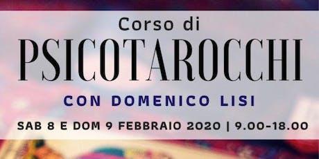 Corso di Psicotarocchi con Domenico Lisi biglietti