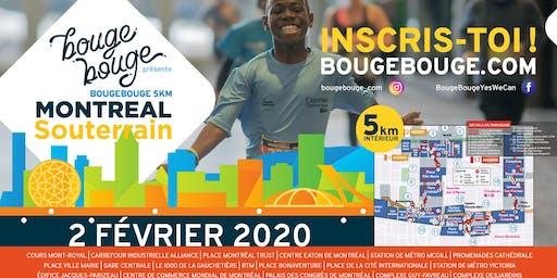 BougeBouge 5km Montréal Souterrain