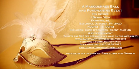 Sanctuary for Women Masquerade Ball tickets
