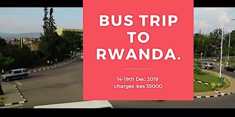 Bus Trip to Rwanda tickets