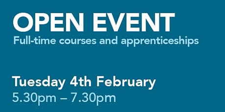 City College Southampton Open Event - 4th February  tickets