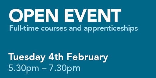 City College Southampton Open Event - 4th February