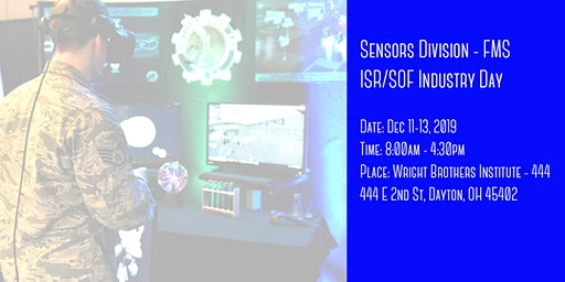 Sensors Division - Foreign Military Sales ISR/SOF Industry Day