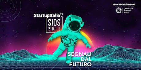 #SIOS19 StartupItalia Open Summit 2019 | speciale Italia Startup biglietti
