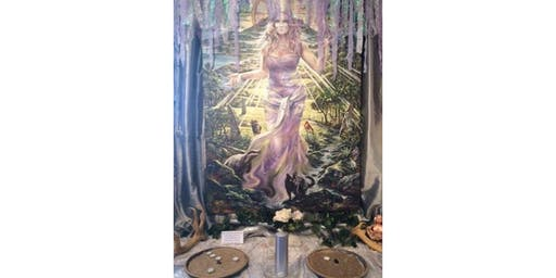 Goddess Danu and Lady of Avalon workshop and embodiment £30pp