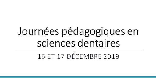 Journées pédagogiques en sciences dentaires