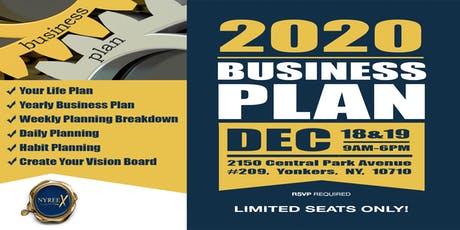 2020 Business Plan tickets