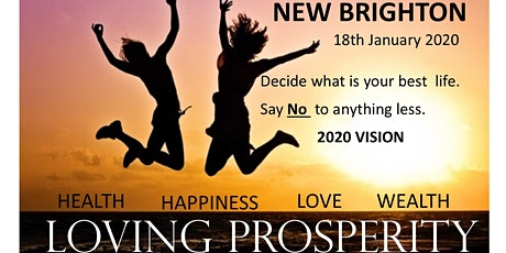 Loving Prosperity 2020 Vision Workshop -  tickets