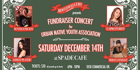 Root Dwellers Fundraiser for URBAN NATIVE YOUTH ASSOCIATION tickets