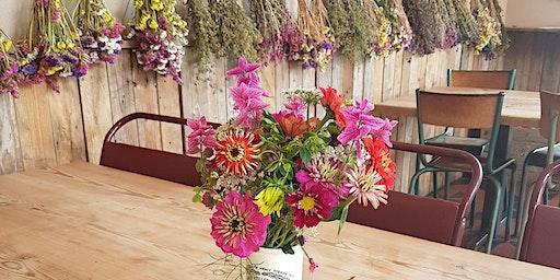 Late Summer Blooms & Dried Flower Arranging Workshop