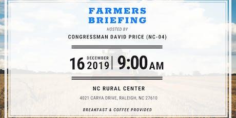 2019 Farmers Briefing with Representative David Price tickets