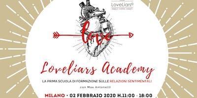 Seminario ♥︎ LOVELIARS ACADEMY • La prima scuola di formazione sull'amore
