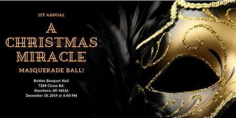 A Christmas Miracle Masquerade Ball tickets