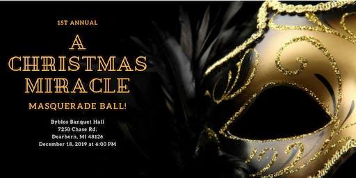 A Christmas Miracle Masquerade Ball