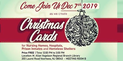 Homemade Christmas Cards Creation