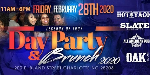 The 15th Annual VSU Legends Of Troy Meet and Greet Day Party & Champagne Brunch
