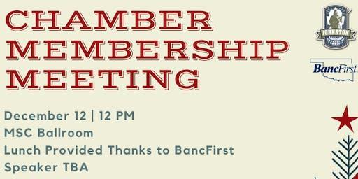 JCCC Quartlerly Membership Meeting