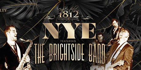 1812's New Year's Eve Party ft. The Brightside Band tickets