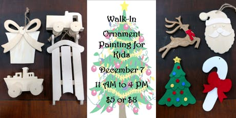 Ornament Painting for Kids tickets