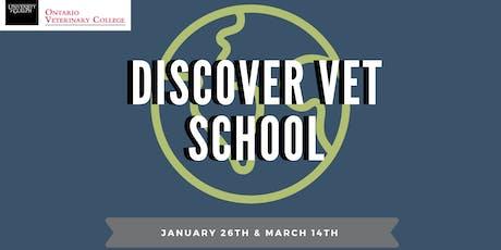 Discover Vet School 2020 tickets